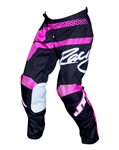 JT Racing 2018 Youth Flex Hi-Lo Pant - Black/Pink