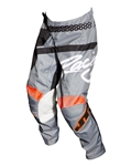 JT Racing 2018 Youth Flex Hi-Lo Pant - Gray/Black