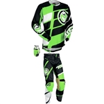 Moose Racing - M1 Combo- Black/Green/White