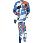 Moose Racing - M1 Combo- Blue/Orange/Black