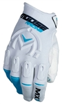 Moose Racing 2018 MX1 Gloves - White/Blue