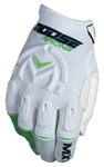 Moose Racing 2018 MX1 Gloves - White/Green