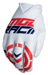 Moose Racing 2018 MX2 Gloves - Red/White/Blue