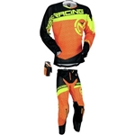 Moose Racing - Sahara Combo- Orange/HiViz Yellow/Black