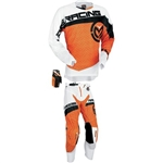 Moose Racing - Sahara Combo- White/Orange/Black