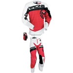 Moose Racing - Sahara Combo- White/Red/Black