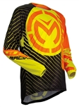 Moose Racing 2018 Youth Qualifier Jersey - Orange/Hi-Viz