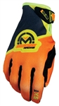 Moose Racing 2018 Youth SX1 Gloves - Orange/Hi-Viz