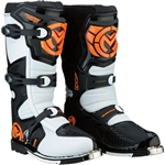 Moose Racing 2018 M1.3 MX Boots - Orange/White