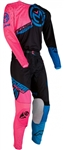 Moose Racing 2018 M1 Combo Jersey Pant - Pink/Blue/Black
