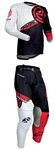 Moose Racing 2018 M1 Combo Jersey Pant - Red/Black