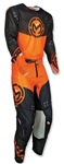 Moose Racing 2018 Sahara Combo Jersey Pant - Black/Orange