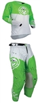 Moose Racing 2018 Sahara Combo Jersey Pant - Green/White