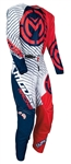 Moose Racing 2018 Youth Qualifier Combo Jersey Pant - Red/White/Blue