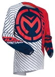 Moose Racing 2017 Qualifier Jersey - Red/White/Blue