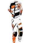Moose Racing 2017 M1 Combo Jersey Pant - Orange/White