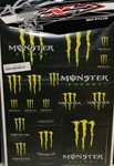 N-Style - Monster Decal Sticker Sheet