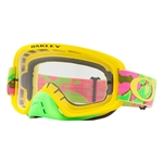 Oakley 2017 O-Frame 2.0 MX Goggle - Thermo Camo Pyg W/Clear Lens