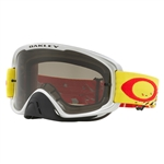 Oakley 2017 O-Frame 2.0 MX Goggle - Checked Finish Yellow Red W/Dark Grey Lens