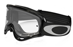 Oakley 2017 O-Frame MX Goggle - Jet Black W/Clear Lens