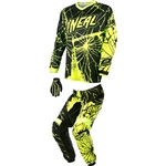 O'Neal - 2017 Element Enigma Combo- Black/Hi-Viz