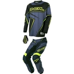 O'Neal - 2017 Element Racewear Combo- Black/Gray/Hi-Viz