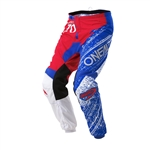 Oneal 2017 Element Burnout Pant - Red/White/Blue