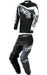Oneal 2018 Element Racewear Combo Jersey Pant - Black/Gray