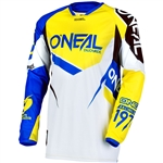 Oneal 2017 Hardwear Flow True Jersey - Blue/Yellow
