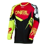 Oneal 2017 Hardwear Flow True Jersey - Red/Hi-Viz