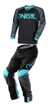 Oneal 2018 Mayhem Lite Blocker Combo Jersey Pant - Black/Gray/Teal