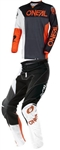 Oneal 2018 Mayhem Lite Split Combo Jersey Pant - Black/Orange
