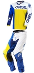 Oneal 2018 Mayhem Lite Split Combo Jersey Pant - Blue/Yellow