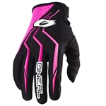 Oneal 2017 Womens Element Racewear Gloves - Black/Pink