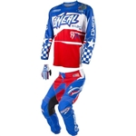 O'Neal - Youth Afterburn Jersey Pant Combo - Blue/Red