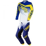 O'Neal - Youth Element Jersey Pant Combo - Blue/Yellow