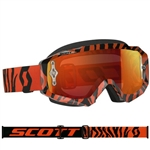 Scott - Hustle MX Goggle- Black/Fluo Orange