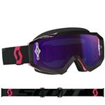 Scott - Hustle MX Goggle- Black/Fluo Pink