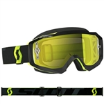 Scott - Hustle MX Goggle- Black/Fluo Yellow