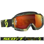 Scott - Hustle MX Goggle- Grey/Fluo Yellow