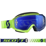 Scott - Hustle MX Goggle- Green/Blue