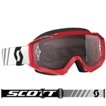 Scott - Hustle MX Goggle- Red/Black