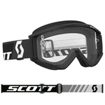 Scott - Recoil Xi MX Clear Lens Goggle- Black