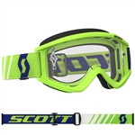 Scott - Recoil Xi MX Clear Lens Goggle-Green/Blue