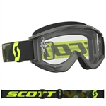 Scott - Recoil Xi MX Clear Lens Goggle- Gray/Fluo Yellow