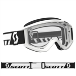 Scott - Recoil Xi MX Clear Lens Goggle- White