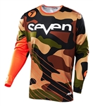 Seven 2017 Annex Soldier Jersey - Orange