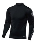 Seven 2018 Zero Cold Weather Compress Jersey - Black