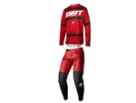 Shift 2018 Label Strike Combo Jersey Pant - Dark Red