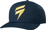 Shift 2018 Outlast LE Snapback Hat - Navy/Gold